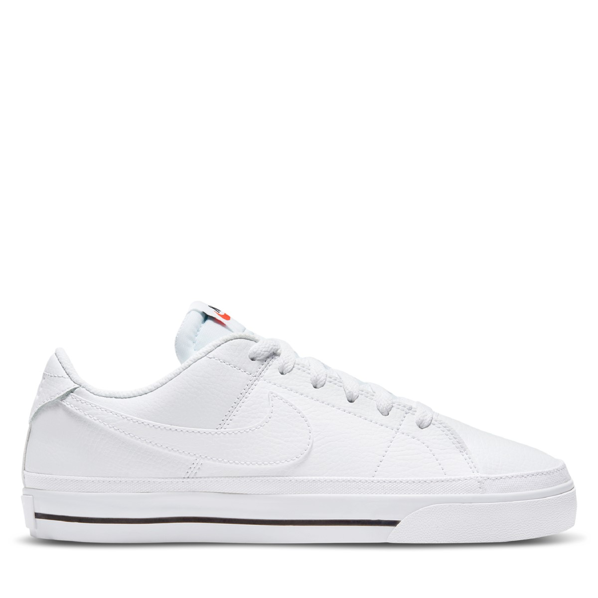 Women's Court Legacy Sneakers in White/ Black