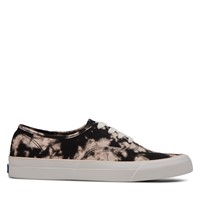 Women's Tie Dye Surfer Sneakers in Black