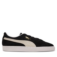 Men's Suede Classic Sneakers in Black