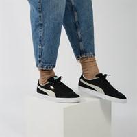Men's Suede Classic Sneakers in Black