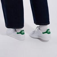 Baskets Stan Smith Primegreen blanc et vert pour femmes