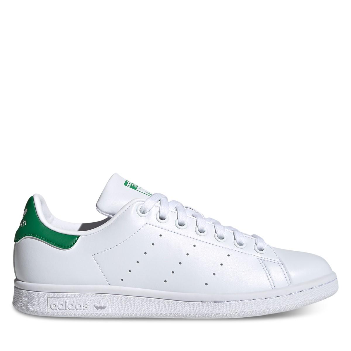 Women's Stan Smith Primegreen Sneakers in White/Green