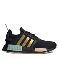 Women's NMD_R1 Sneakers in Black/Gold