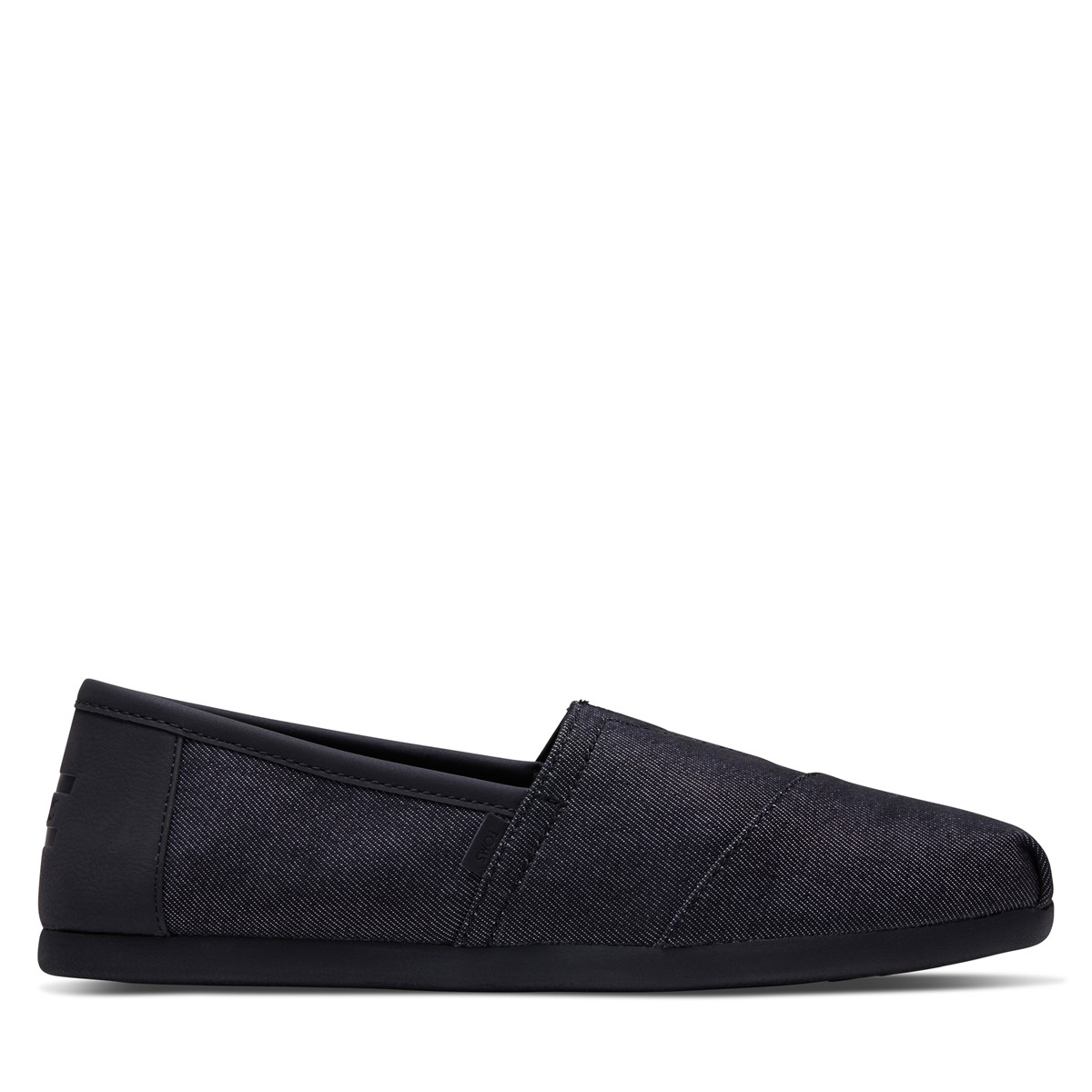 Men's Alpargata Slip-On Shoes in All Black