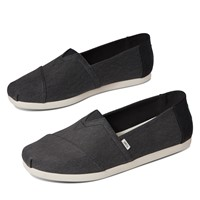 Men's Alpargata Waterless Slip-On Shoes in Black