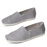 Men's Alpargata Waterless Slip-On Shoes in Grey