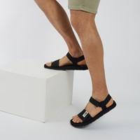 Men's Skeena Strap Sandals in Black