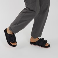 Sandales EQBC noires pour hommes