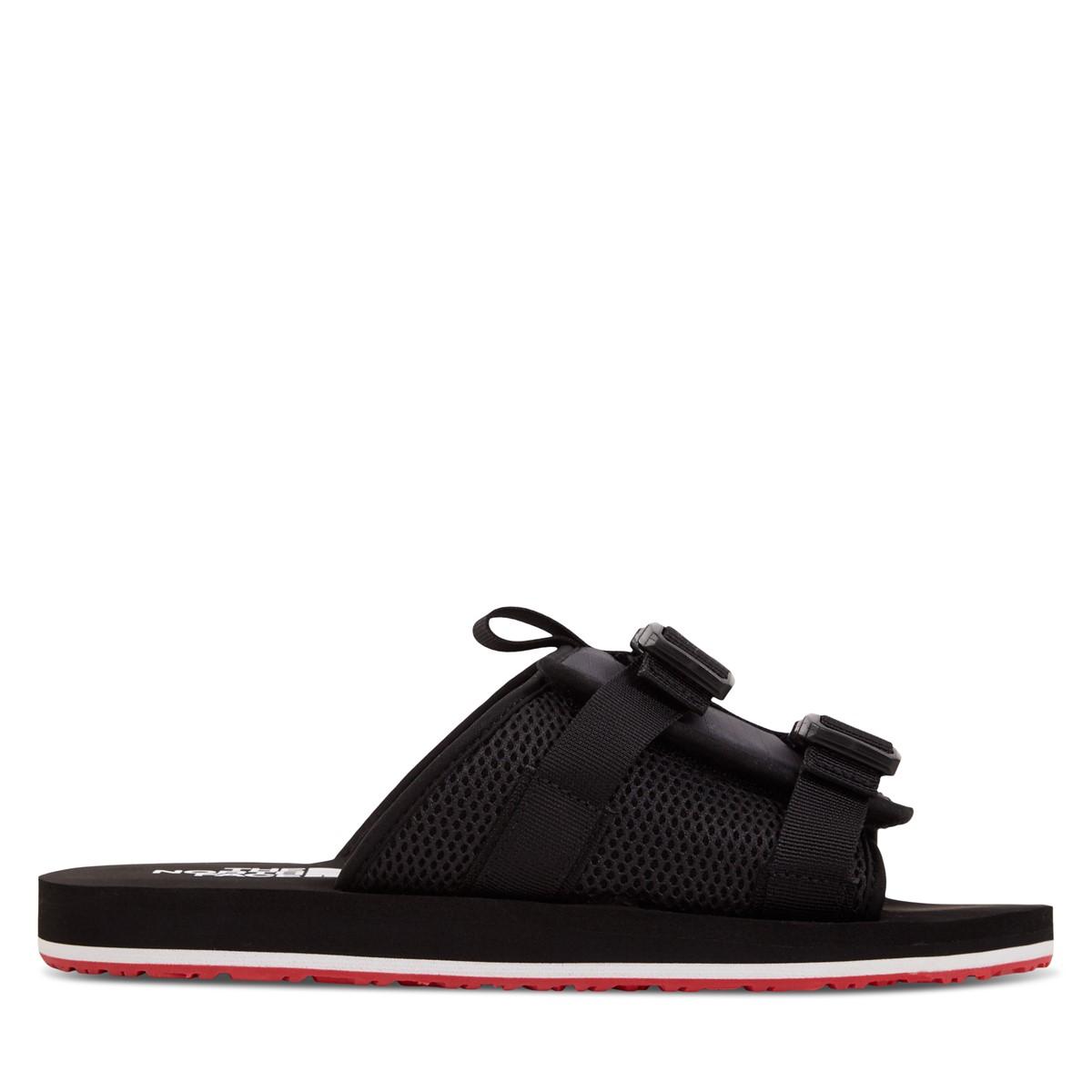 Men's EQBC Slide Sandals in Black