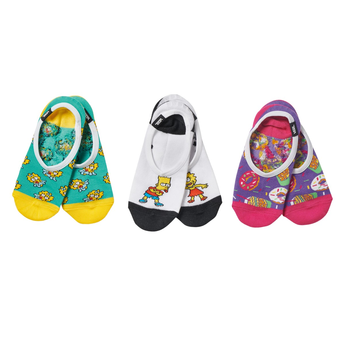 Women's The Simpsons Family Canoodle Socks