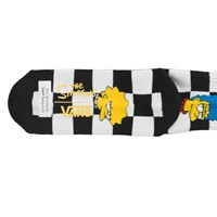 Women's The Simpsons Checkerboard Crew Socks
