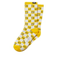 Women's The Simpsons Check Eyes Socks