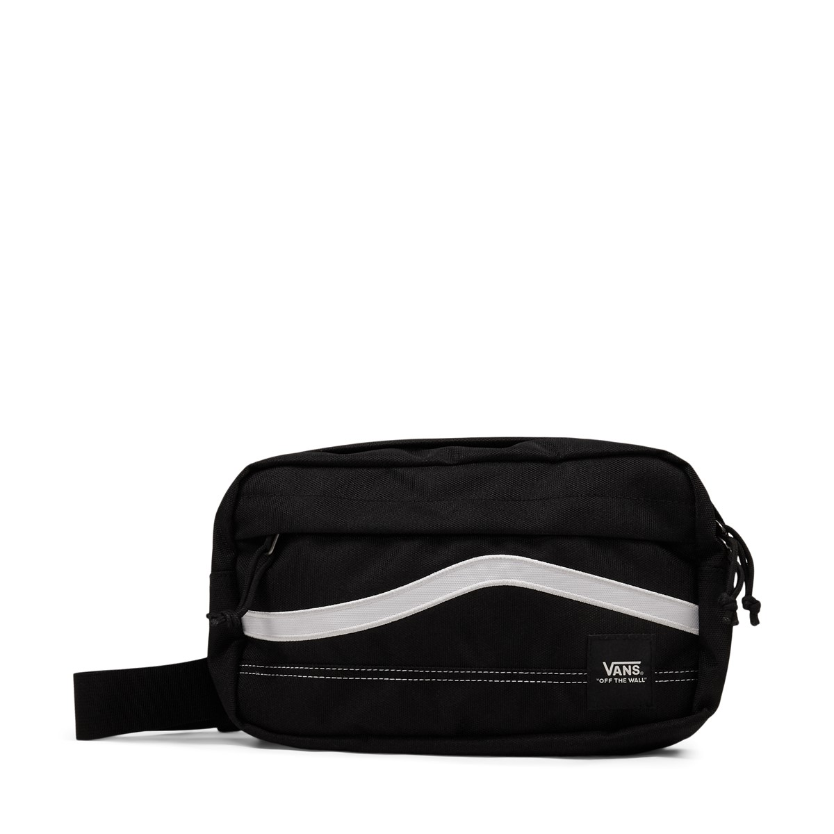 Construct Cross Body Bag in Black and White