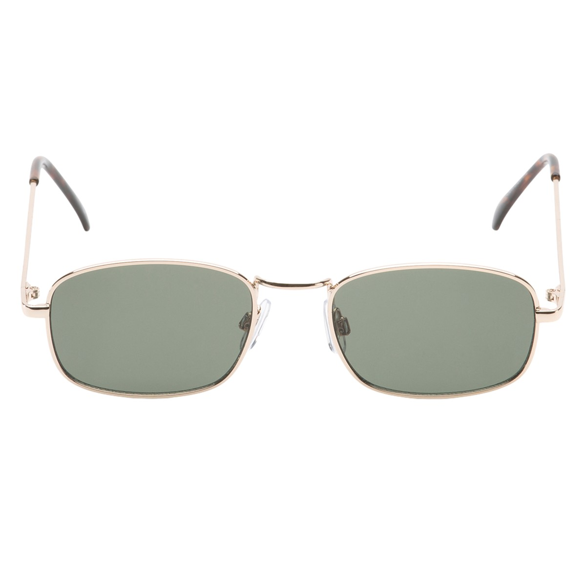 Four-Square Sunglasses in Gold