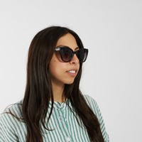 Hip Cat Sunglasses in Black