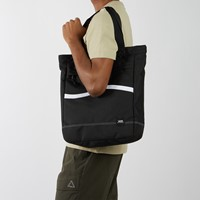 Construct Tote Bag in Black