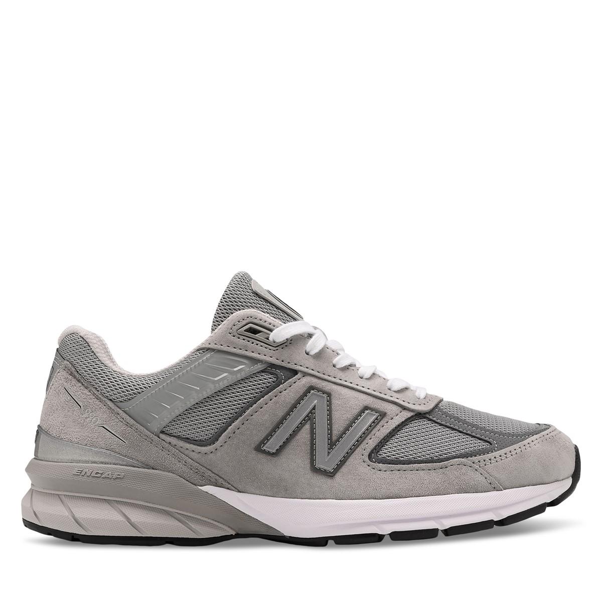 Men's 990V5 Sneakers in Grey