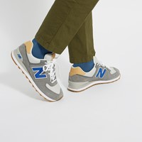 Men's 574 Sneakers in Grey/Blue
