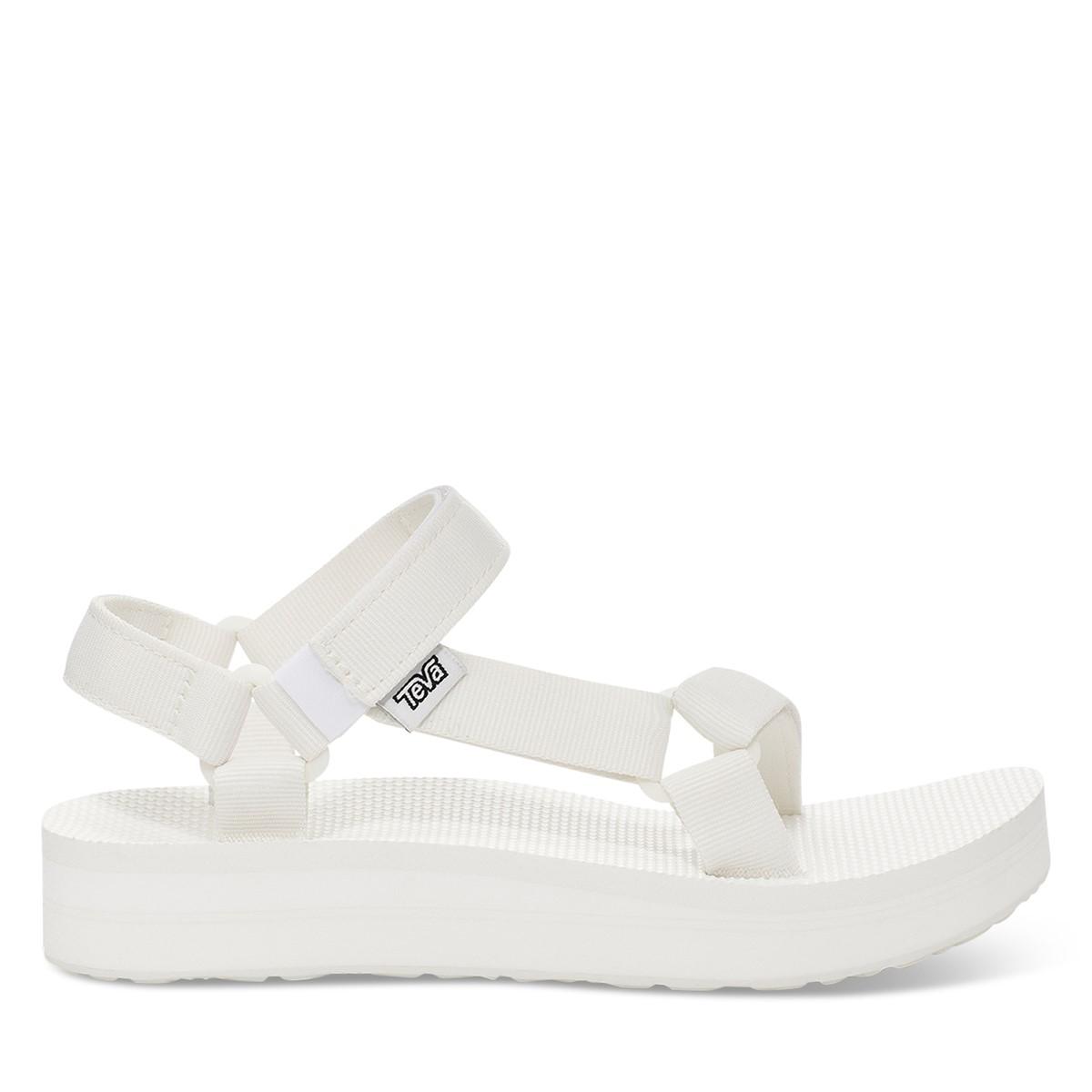 Women's Midform Universal Platform Sandals in White