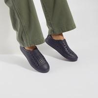 Women's Jefferson Bloom Sneakers in Navy Blue