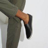Men's Miles Slip-On Shoes in Black