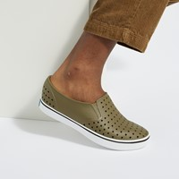 Men's Miles Slip-On Shoes in Olive Green