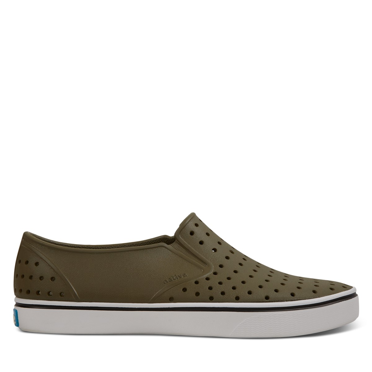 Men's Miles Slip-On Shoes in Olive Green