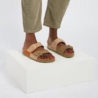 Women's Arizona Split Sandals in Beige/Khaki