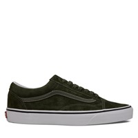 Men's Old Skool Sneakers in Olive Suede