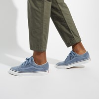 Men's Old Skool Sneakers in Blue Suede
