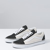 Men's Old Skool Deboss OTW Sneakers in Black/White