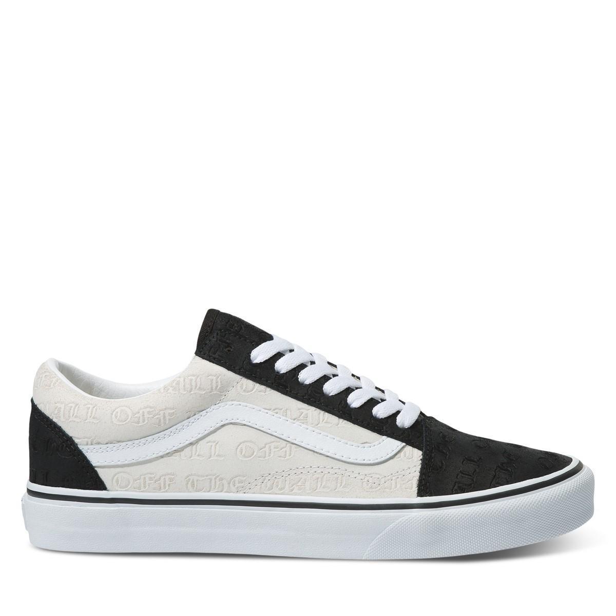Men's Old Skool Deboss OTW Sneakers in Black/White