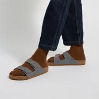 Sandales Arizona grises pour hommes