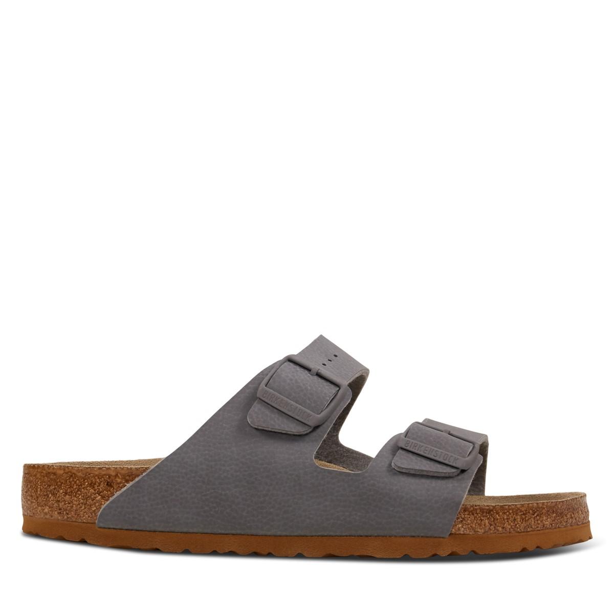 Men's Arizona Sandals in Grey