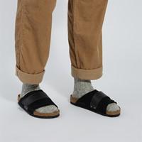 Sandales Kyoto noires pour hommes