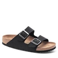 Sandales Arizona véganes noires pour hommes