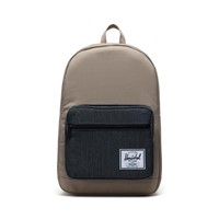 Pop Quiz Backpack in Beige/Black