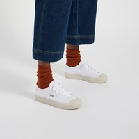 Women's Gripshot Sneakers in Off-White/White