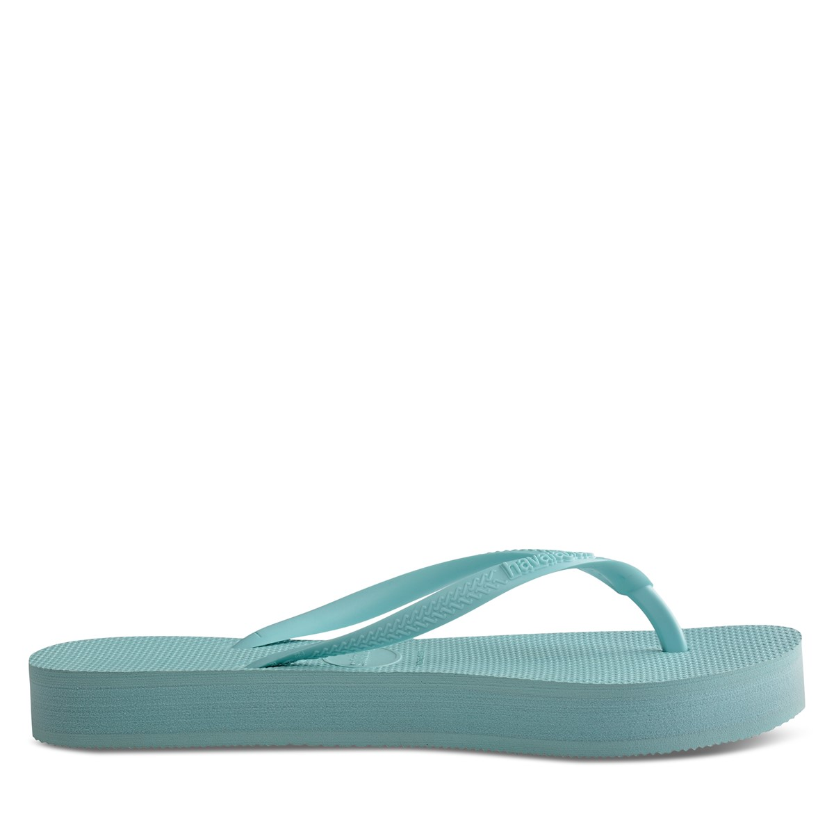 Women's Slim Flatform Sandals in Sky Blue