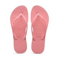 Women's Slim Flatform Sandals in Macaron Pink