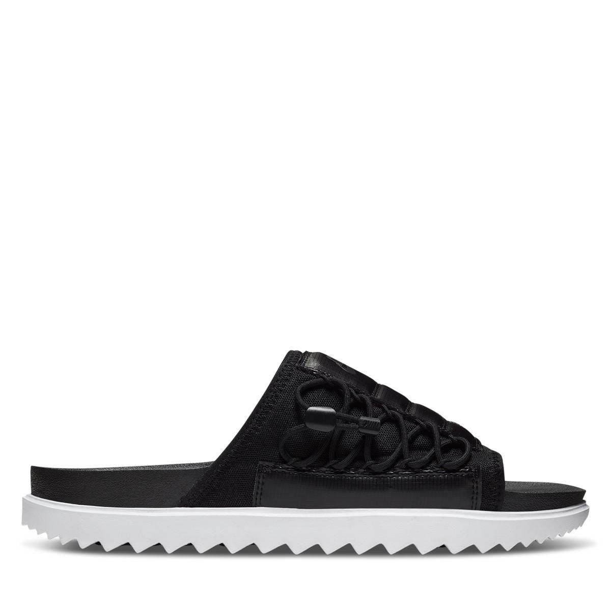 Sandales Asuna noir et blanc pour hommes