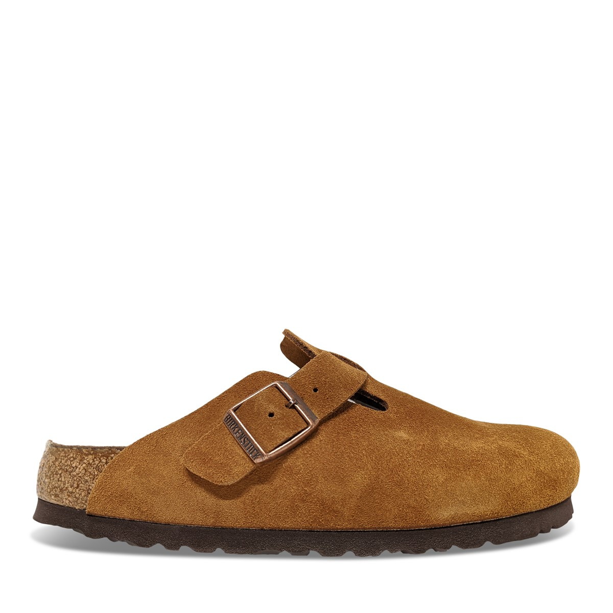 Women's Boston Clogs in Beige
