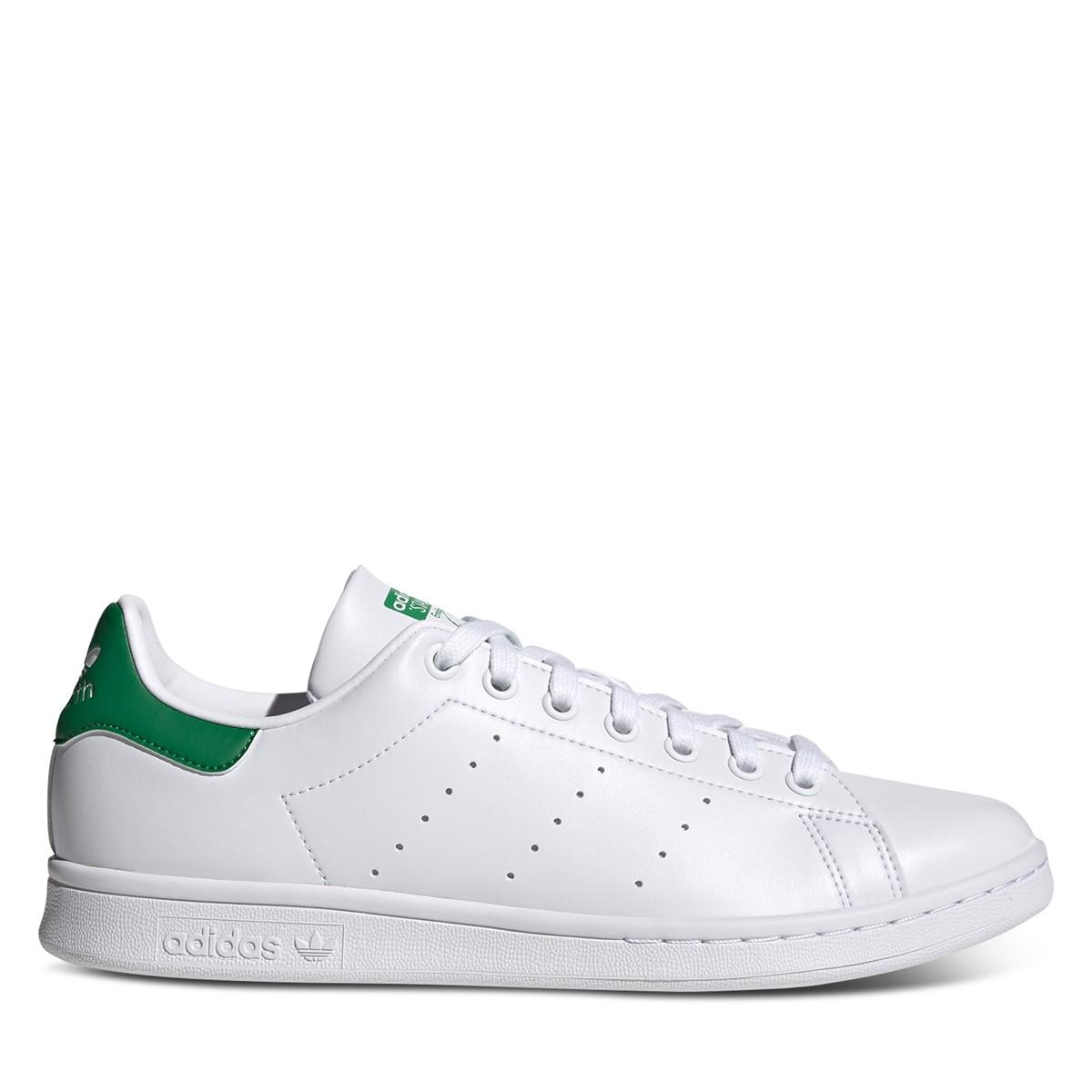 Baskets Stan Smith Primegreen blanc et vert pour hommes