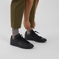 Men's Stan Smith Primegreen Sneakers in All Black