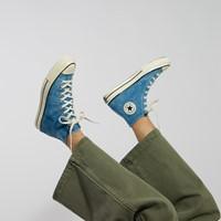 Men's Summer Daze Chuck 70 Hi Sneakers in Washed Blue