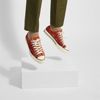Baskets Summer Daze Chuck 70 Ox orange pour hommes
