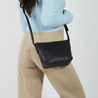 Sam Purity Crossbody Bag in Black