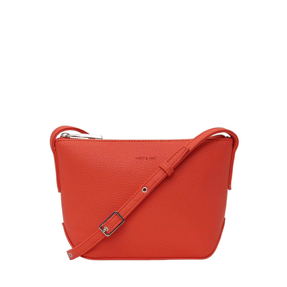 Sam Purity Crossbody Bag in Red