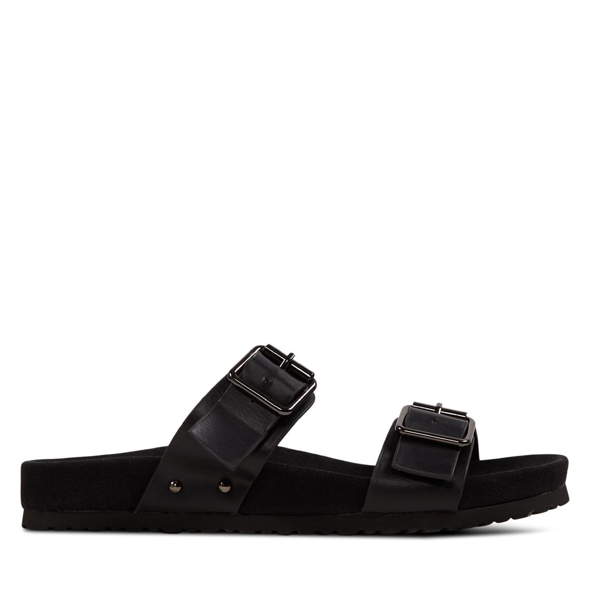 Women's Ibaka Slip-On Sandals in Black