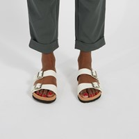 Women's Ibaka Slip-On Sandals in White